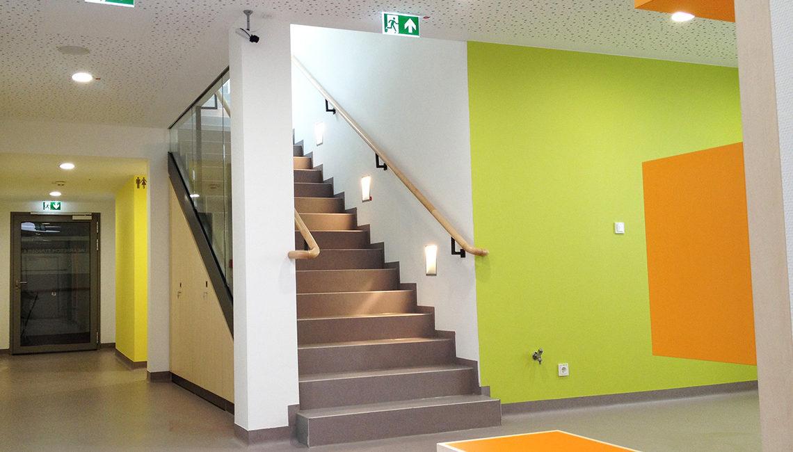 Universitätsklinik Mainz, BA III Strahlenbeschleuniger Innenansicht