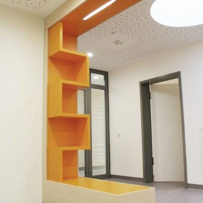 Universitätsklinik Mainz, BA III Strahlenbeschleuniger Raumteiler