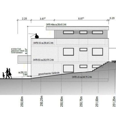 Architekt Koblenz Arndt Schwarz Planarchitektur Skizze 2