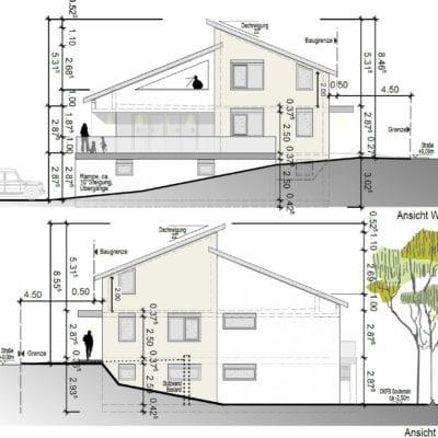 Architekt Koblenz Arndt Schwarz Planarchitektur Skizze